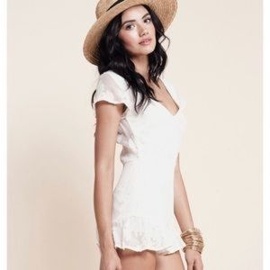 🍋 For Love And Lemons Pina Colada Romper S
